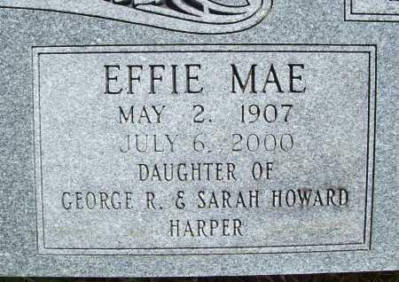HERMANN, EFFIE MAE (CLOSEUP) - Benton County, Arkansas | EFFIE MAE (CLOSEUP) HERMANN - Arkansas Gravestone Photos