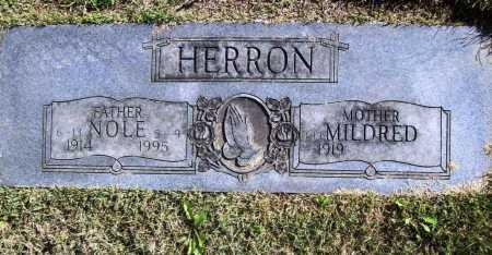 HERRON, NOLE - Benton County, Arkansas   NOLE HERRON - Arkansas Gravestone Photos