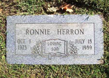 HERRON, RONNIE - Benton County, Arkansas   RONNIE HERRON - Arkansas Gravestone Photos