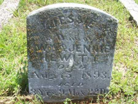 HEWITT, JESSIE - Benton County, Arkansas | JESSIE HEWITT - Arkansas Gravestone Photos
