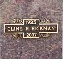 HICKMAN (VETERAN WWII), CLINE HOWARD - Benton County, Arkansas | CLINE HOWARD HICKMAN (VETERAN WWII) - Arkansas Gravestone Photos