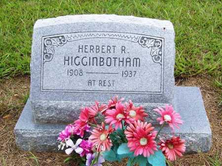 HIGGINBOTHAM, HERBERT R. - Benton County, Arkansas   HERBERT R. HIGGINBOTHAM - Arkansas Gravestone Photos