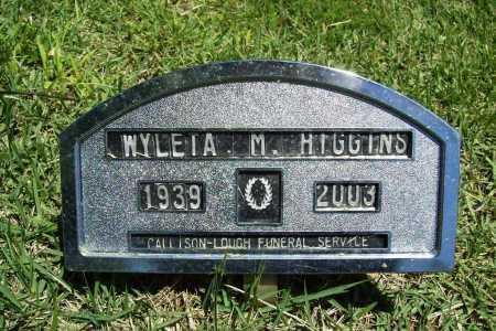 HIGGINS, WYLETA M. - Benton County, Arkansas | WYLETA M. HIGGINS - Arkansas Gravestone Photos