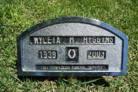 HIGGINS, WYLETA M. - Benton County, Arkansas | WYLETA M. HIGGINS - Arkansas Gravestone Photos