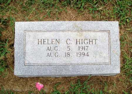 HIGHT, HELEN C. - Benton County, Arkansas   HELEN C. HIGHT - Arkansas Gravestone Photos