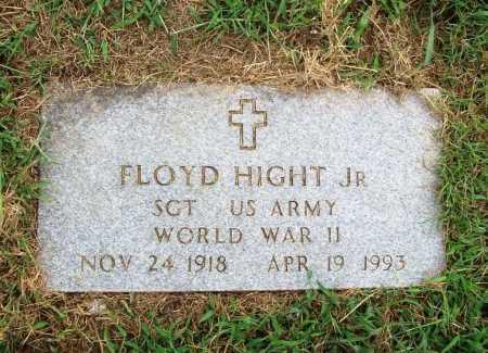HIGHT (VETERAN WWII), FLOYD JR - Benton County, Arkansas | FLOYD JR HIGHT (VETERAN WWII) - Arkansas Gravestone Photos