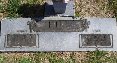 HILL, ESTHER D. - Benton County, Arkansas | ESTHER D. HILL - Arkansas Gravestone Photos