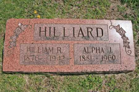 HILLIARD, WILLIAM R. - Benton County, Arkansas | WILLIAM R. HILLIARD - Arkansas Gravestone Photos