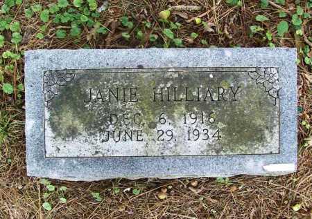 HILLIARY, JANIE - Benton County, Arkansas | JANIE HILLIARY - Arkansas Gravestone Photos