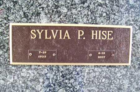 HISE, SYLVIA PAULINE - Benton County, Arkansas | SYLVIA PAULINE HISE - Arkansas Gravestone Photos