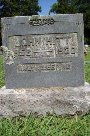 HITT, JOHN - Benton County, Arkansas | JOHN HITT - Arkansas Gravestone Photos