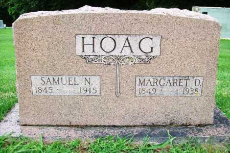 HOAG, SAMUEL N. - Benton County, Arkansas | SAMUEL N. HOAG - Arkansas Gravestone Photos