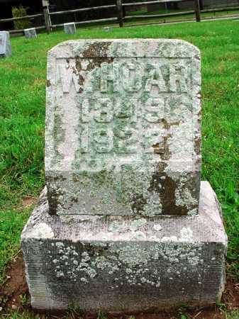 HOAR, W. - Benton County, Arkansas | W. HOAR - Arkansas Gravestone Photos