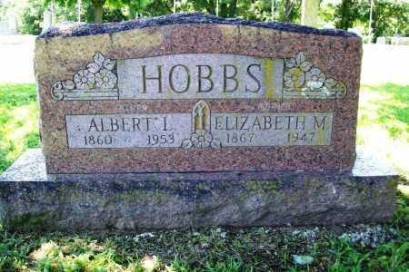 HOBBS, ALBERT L. - Benton County, Arkansas | ALBERT L. HOBBS - Arkansas Gravestone Photos