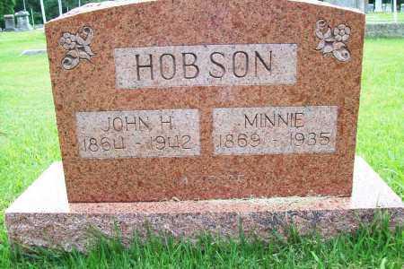 HOBSON, JOHN H. - Benton County, Arkansas   JOHN H. HOBSON - Arkansas Gravestone Photos
