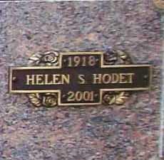 SHACOSKI HODET, HELEN LOTTIE - Benton County, Arkansas | HELEN LOTTIE SHACOSKI HODET - Arkansas Gravestone Photos