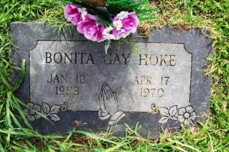 HOKE, BONITA GAY - Benton County, Arkansas | BONITA GAY HOKE - Arkansas Gravestone Photos