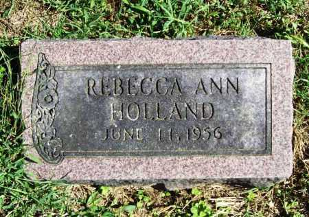 HOLLAND, REBECCA ANN - Benton County, Arkansas | REBECCA ANN HOLLAND - Arkansas Gravestone Photos