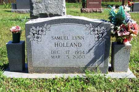 HOLLAND, SAMUEL LYNN - Benton County, Arkansas | SAMUEL LYNN HOLLAND - Arkansas Gravestone Photos