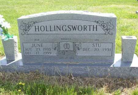 HOLLINGSWORTH, PHYLLIS JUNE - Benton County, Arkansas   PHYLLIS JUNE HOLLINGSWORTH - Arkansas Gravestone Photos