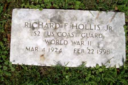 HOLLIS, JR (VETERAN WWII), RICHARD F - Benton County, Arkansas   RICHARD F HOLLIS, JR (VETERAN WWII) - Arkansas Gravestone Photos