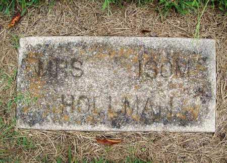HOLLMAN, MRS. ISOM - Benton County, Arkansas | MRS. ISOM HOLLMAN - Arkansas Gravestone Photos