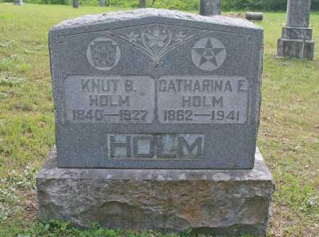 HOLM, KNUT B - Benton County, Arkansas | KNUT B HOLM - Arkansas Gravestone Photos