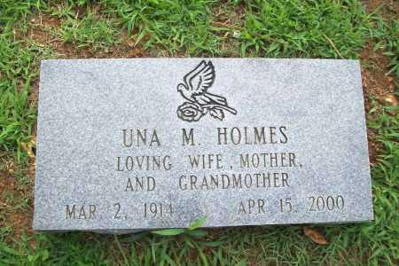 CHANDLER HOLMES, UNA M. - Benton County, Arkansas | UNA M. CHANDLER HOLMES - Arkansas Gravestone Photos
