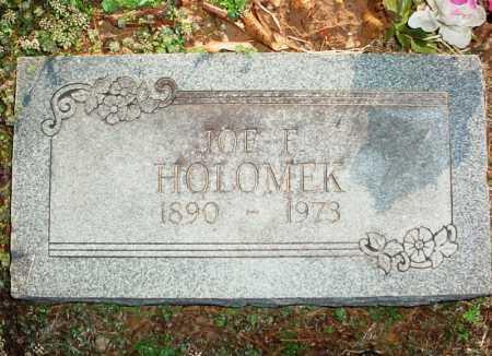 HOLOMEK, JOE F. - Benton County, Arkansas | JOE F. HOLOMEK - Arkansas Gravestone Photos
