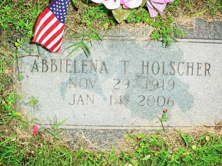 HOLSCHER, ABBIELENA T. - Benton County, Arkansas   ABBIELENA T. HOLSCHER - Arkansas Gravestone Photos