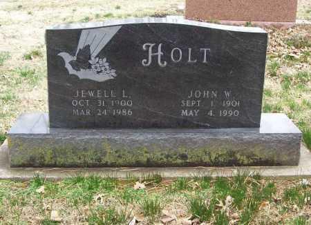 HOLT, JEWELL L. - Benton County, Arkansas | JEWELL L. HOLT - Arkansas Gravestone Photos