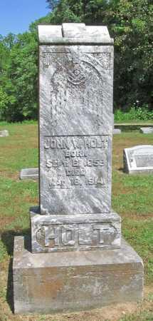 HOLT, JOHN WALLACE - Benton County, Arkansas | JOHN WALLACE HOLT - Arkansas Gravestone Photos