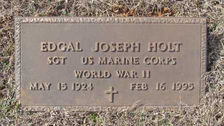 HOLT (VETERAN WWII), EDGAL JOSEPH - Benton County, Arkansas | EDGAL JOSEPH HOLT (VETERAN WWII) - Arkansas Gravestone Photos