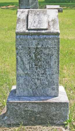 HOOD, ELLEN - Benton County, Arkansas   ELLEN HOOD - Arkansas Gravestone Photos