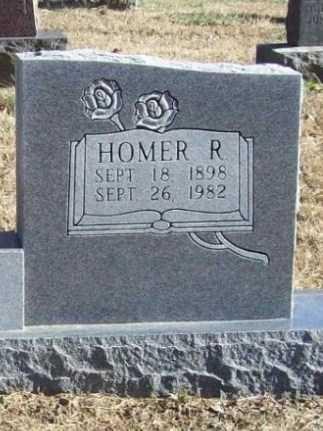 HOOG, HOMER R (CLOSEUP) - Benton County, Arkansas   HOMER R (CLOSEUP) HOOG - Arkansas Gravestone Photos