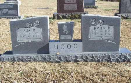 HOOG, HOMER R. - Benton County, Arkansas | HOMER R. HOOG - Arkansas Gravestone Photos