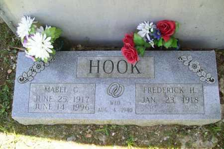 HOOK, FREDERICK H. - Benton County, Arkansas | FREDERICK H. HOOK - Arkansas Gravestone Photos