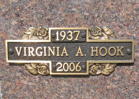 "FLICK HOOK, VIRGINAIA A ""GINI"" - Benton County, Arkansas 