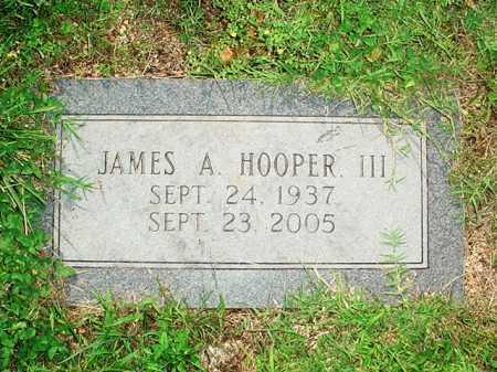 HOOPER, JAMES A. III - Benton County, Arkansas | JAMES A. III HOOPER - Arkansas Gravestone Photos