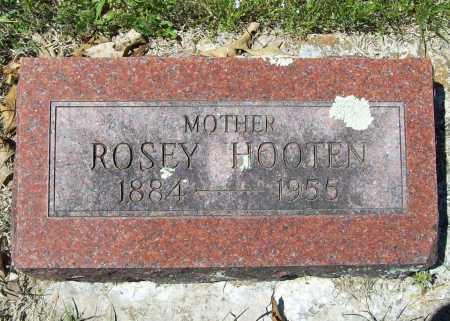 HOOTEN, ROSEY - Benton County, Arkansas   ROSEY HOOTEN - Arkansas Gravestone Photos