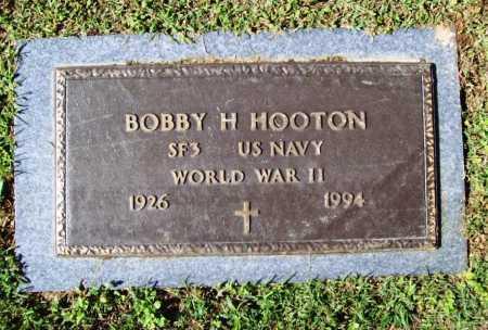 HOOTEN (VETERAN WWII), BOBBY H - Benton County, Arkansas | BOBBY H HOOTEN (VETERAN WWII) - Arkansas Gravestone Photos