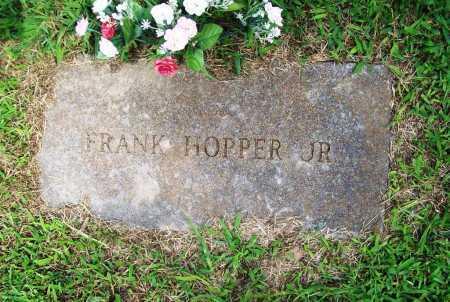 HOPPER, FRANK JR. - Benton County, Arkansas | FRANK JR. HOPPER - Arkansas Gravestone Photos