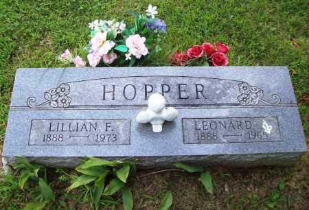HOPPER, LEONARD - Benton County, Arkansas | LEONARD HOPPER - Arkansas Gravestone Photos