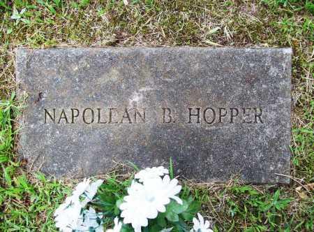 HOPPER, NAPOLEAN B. - Benton County, Arkansas | NAPOLEAN B. HOPPER - Arkansas Gravestone Photos