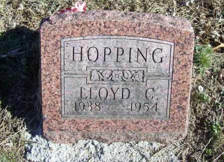 HOPPING, LLOYD C. - Benton County, Arkansas | LLOYD C. HOPPING - Arkansas Gravestone Photos