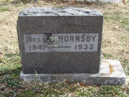 HORNSBY, MATILDA - Benton County, Arkansas   MATILDA HORNSBY - Arkansas Gravestone Photos