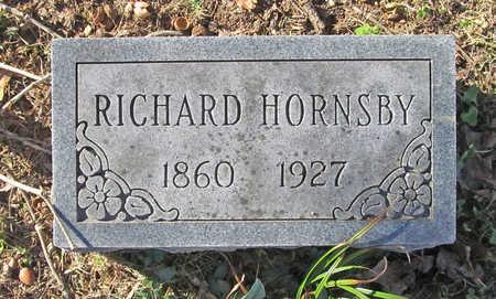 HORNSBY, RICHARD - Benton County, Arkansas   RICHARD HORNSBY - Arkansas Gravestone Photos