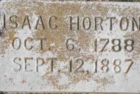 HORTON, ISAAC - Benton County, Arkansas | ISAAC HORTON - Arkansas Gravestone Photos