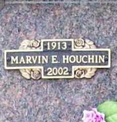 HOUCHIN, MARVIN E. - Benton County, Arkansas   MARVIN E. HOUCHIN - Arkansas Gravestone Photos