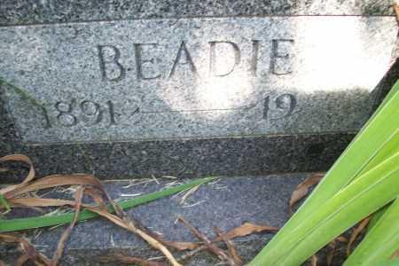 HOWARD, BEADIE (CLOSEUP) - Benton County, Arkansas | BEADIE (CLOSEUP) HOWARD - Arkansas Gravestone Photos
